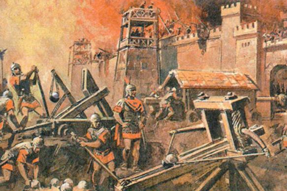 Осадные тактики в древности