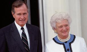 Жена Джорджа Буша-старшего умерла в возрасте 92 лет
