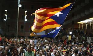 Почти полмиллиона человек примут участие в демонстрации в Каталонии