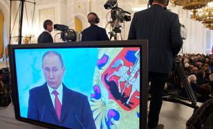 Путина начали показывать по правительственному телеканалу США