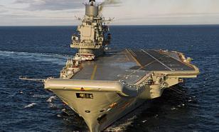 """В следующем году будет окончен ремонт крейсера """"Адмирал Кузнецов"""""""