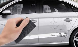 Как избавиться от царапины на авто
