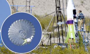 Полет на 500 метров: американец на самодельной ракете отправился в космос
