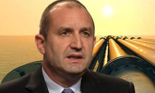 Президент Радев призвал Россию надуть Болгарию газом напрямую