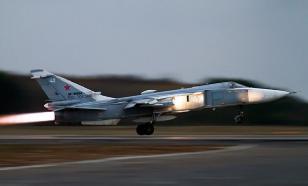 Минобороны России рассказало о перехвате Су-24 у Крыма