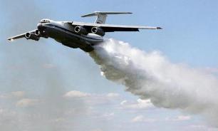 Авиация сбросила в районы пожаров в Сибири 1260 тонн воды