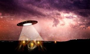 Изучающий секретную базу НЛО попал на камеры уфологов
