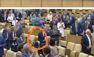 Поклонская единственная из депутатов отказалась приветствовать конгрессменов США стоя