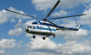 На Камчатке жестко приземлился вертолет с туристами
