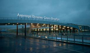 В Петербурге в аэропорту Пулково из-за проверки остановлены трапы