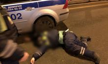 Лишенный прав таксист сбил инспектора ДПС в Москве