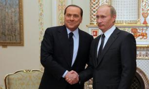 Берлускони прокомментировал встречу с Путиным в аэропорту Рима