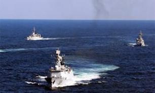 Китайский боевой флот подошел к берегам США