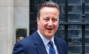 Дэвид Кэмерон запел после объявления о своей отставке. ВИДЕО