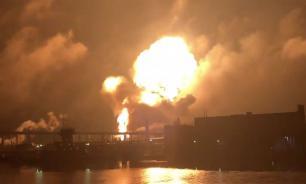 В Филадельфии прогремел взрыв на газоперерабатывающем заводе