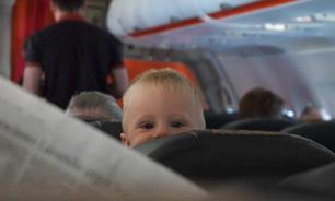 Авиакомпания стала указывать при регистрации места с детьми