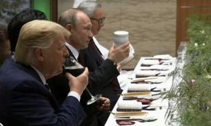 Владимир Путин приехал на саммит G20 со своей кружкой