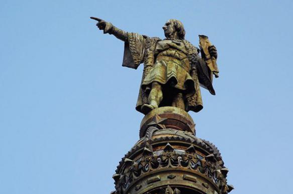"""В архиве Испании нашли первое письмо, подтверждающее экспедицию Колумба в """"Индию"""""""