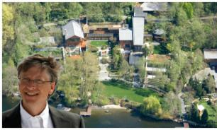 У Билла Гейтса в особняке за 95,8 млн фунтов есть батутная комната