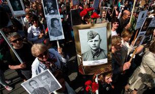 """Путин: """"Бессмертный полк"""" - честный и искренний проект"""