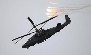 Неисправность или залп ПЗРК: в Сирии рухнул Ка-52