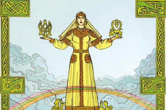 День богини Макоши - славянский Хеллоуин
