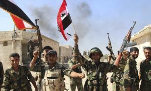 Сирийские правительственные войска активно теснят террористов