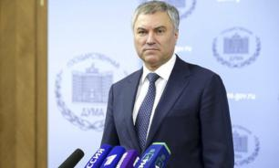 """Володин призвал единороссов спуститься с """"политического подиума"""""""