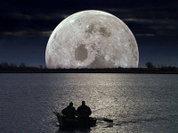 От чего зависит размер Луны?