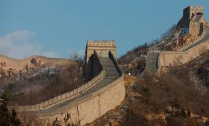 В Китае из-за ливней пострадала Великая стена