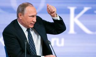 """""""Думали, мы убежим? Россия - не та страна!"""" Пресс-конференция Путина - главное"""