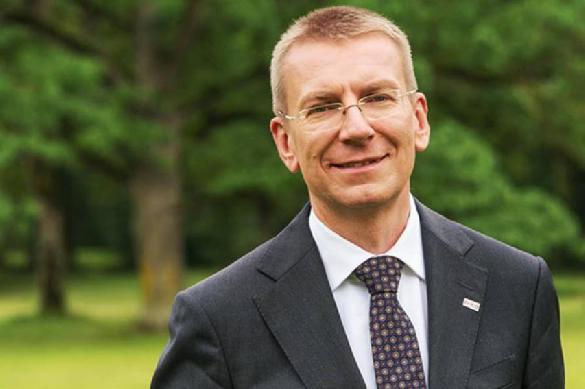 Глава МИД Латвии рекламирует Кремль