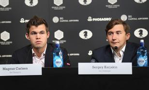 Карякин обыграл Карлсена на чемпионате мира по быстрым шахматам