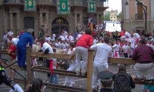 В Испании от разъяренных быков пострадали пять человек