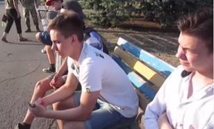 В Славянске студенты отказались уважать гимн Украины