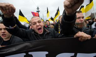"""""""Русский марш"""" в Москве все же прошел и установил антирекорд"""