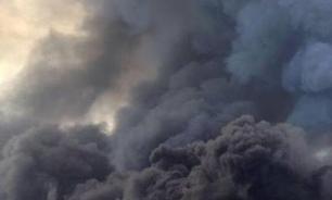 В Пермском крае горит нефтепровод