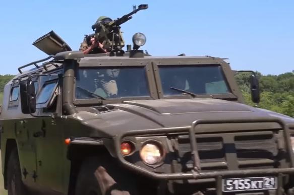 """У российского спецназа новейший бронеавтомобиль КамАЗ 53949 """"Тайфунёнок"""""""