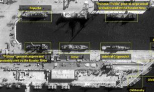 Российский флот вышел навстречу флоту США