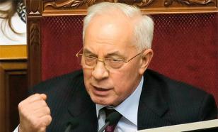 Азаров предложил досрочно переизбрать Порошенко и украинский парламент
