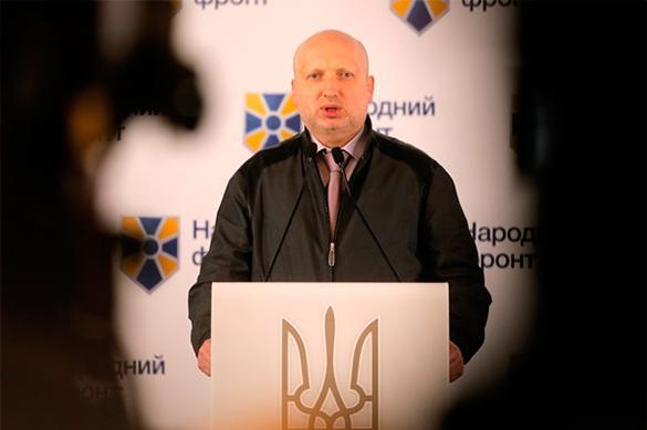 Турчинов заявил, что ополченцы сорвали перемирие