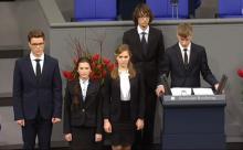 Школьник с Ямала покаялся в бундестаге за убитых фашистов