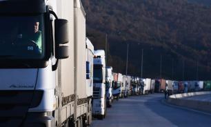 Украинские грузовики отправлены из России на родину