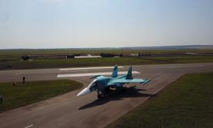 12 истребителей приземлились на автомагистраль в Татарстане