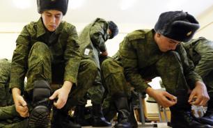 Шойгу допустил возможность отмены обязательного военного призыва