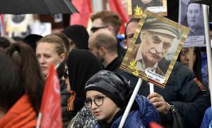 """Ряд российских СМИ сообщил, что студентов принуждают участвовать в """"Бессмертном полку"""""""