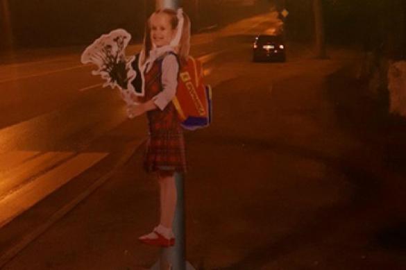 Провинциальные водители испугались светящихся девочек на трассах