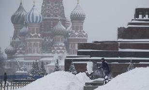 """Погода в Москве вызвала """"оранжевый"""" уровень опасности"""