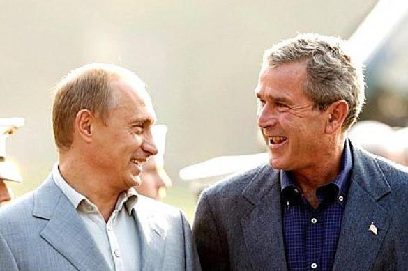 """""""Разглядевший душу Путина"""" Буш дал совет, как вести дела с Россией"""