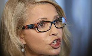 На Украине неизвестный устроил стриптиз для Тимошенко